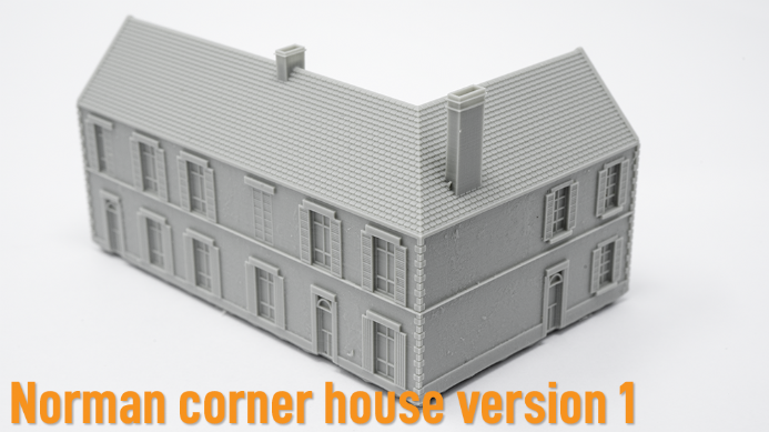 1/285th Norman corner house 1